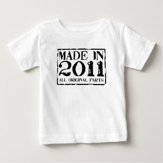 made in 2011 all original parts t shirt