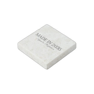 Made in 2035 stone magnet
