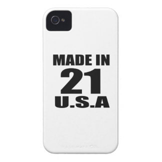 MADE IN 21 U.S.A BIRTHDAY DESIGNS iPhone 4 COVER