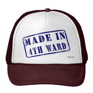 Made in 4th Ward Trucker Hats