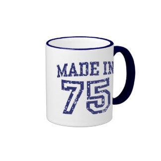Made In 75 Ringer Coffee Mug