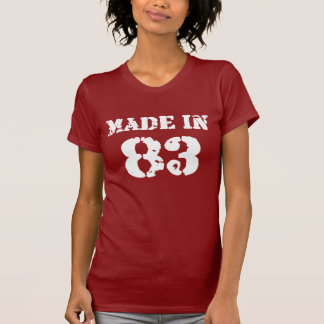 Made In 83 Shirt