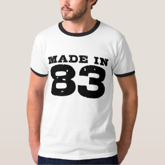 Made in 83 T-Shirt
