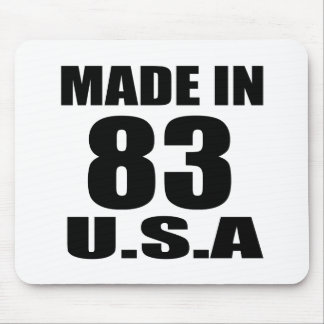 MADE IN 83 U.S.A BIRTHDAY DESIGNS MOUSE PAD
