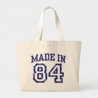 Made in 84 tote bags