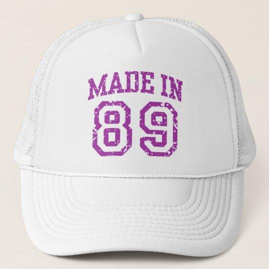 Made in 89 trucker hat