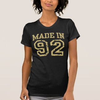 Made in 92 tshirts