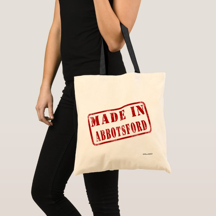 Made in Abbotsford Canvas Bag
