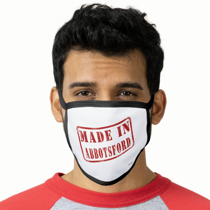 Made in Abbotsford Cloth Face Mask