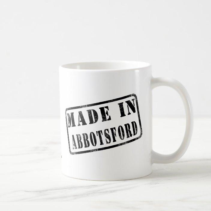 Made in Abbotsford Coffee Mug