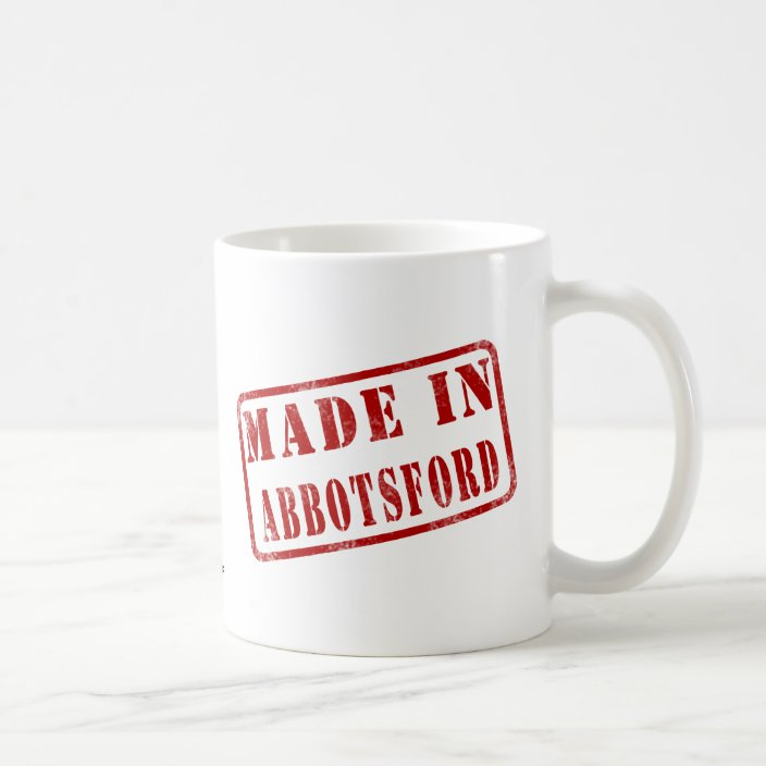 Made in Abbotsford Drinkware