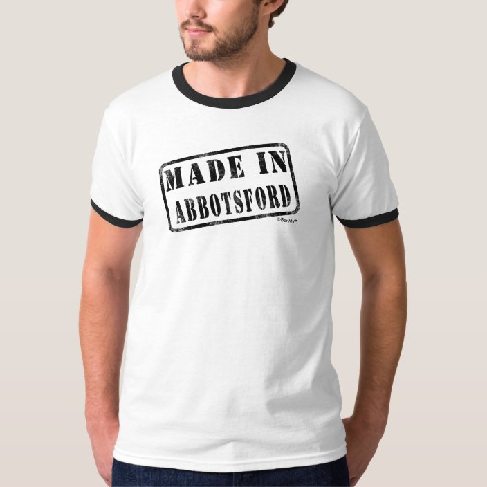 Made in Abbotsford Shirt