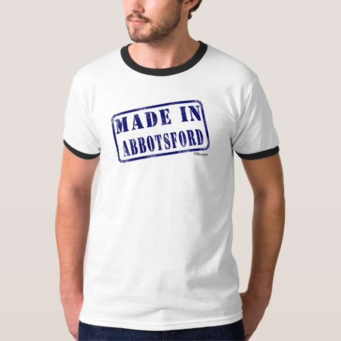 Made in Abbotsford T Shirt
