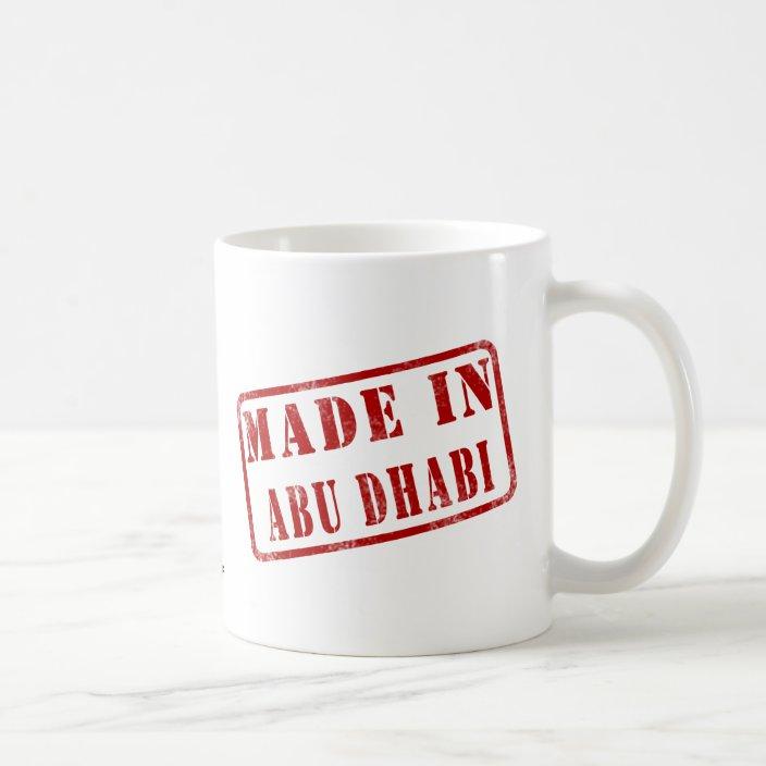 Made in Abu Dhabi Coffee Mug