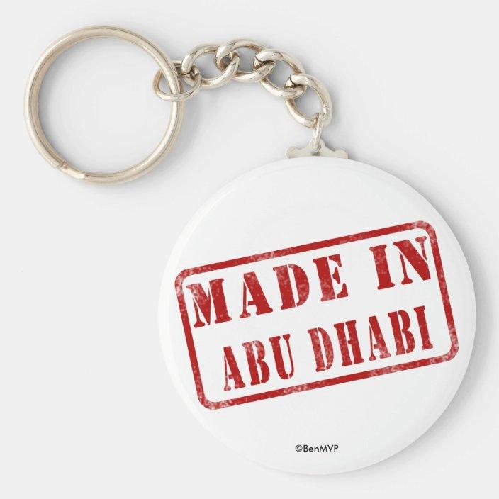 Made in Abu Dhabi Key Chain