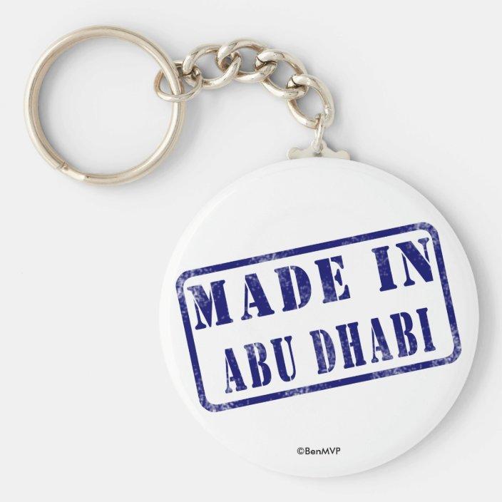 Made in Abu Dhabi Keychain
