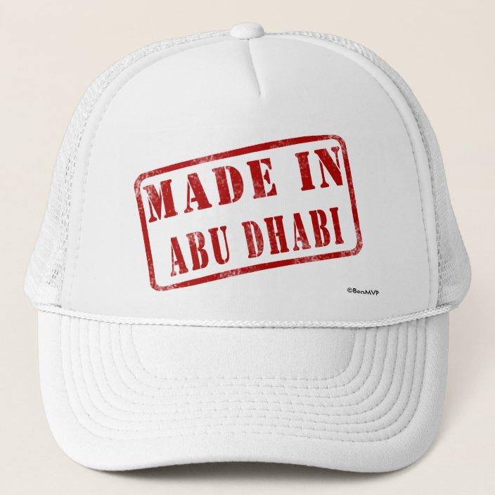 Made in Abu Dhabi Mesh Hat