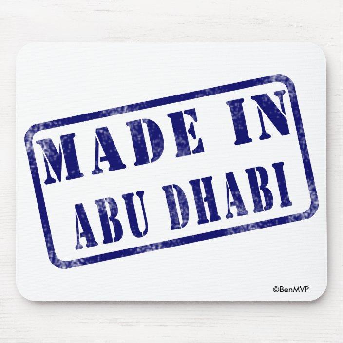 Made in Abu Dhabi Mousepad