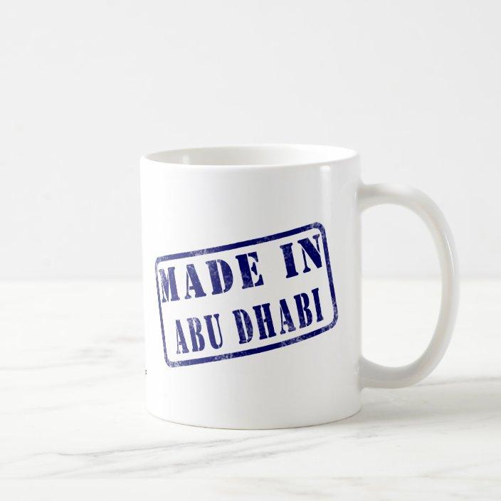 Made in Abu Dhabi Mug