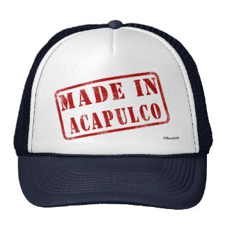 Made in Acapulco Trucker Hat