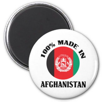 Made In Afghanistan 2 Inch Round Magnet