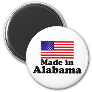 Made in Alabama 2 Inch Round Magnet