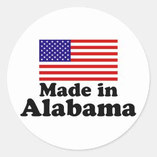 Made in Alabama Classic Round Sticker