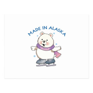 Made In Alaska Postcard