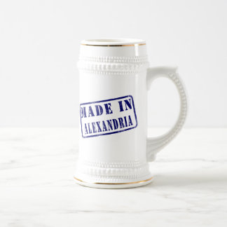 Made in Alexandria Beer Stein