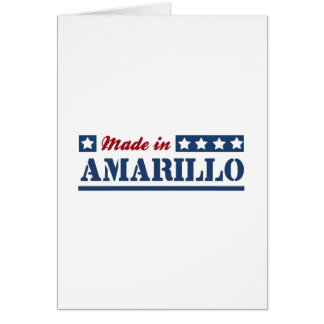 Made in Amarillo Cards