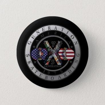 Made in America 1975 Logo Button