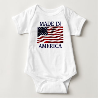 Made in America Baby Bodysuit