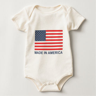 Made In America Baby Bodysuit