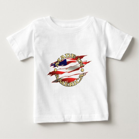 Made In America Baby T-Shirt