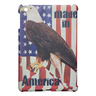 Made In America Bald Eagle IPad Speck Case Cover For The iPad Mini