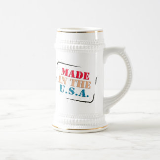 MADE IN AMERICA BEER STEIN