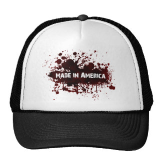 Made in America - Blood Stain Trucker Hat