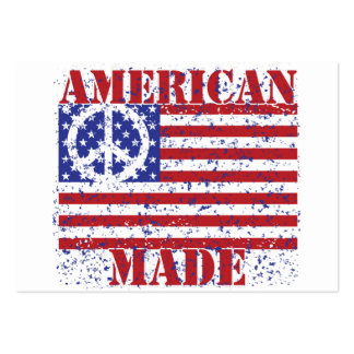 Made in America Large Business Cards (Pack Of 100)
