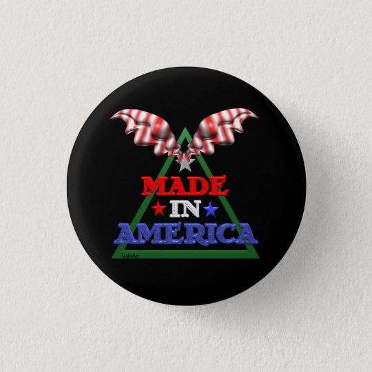 Made in America Button
