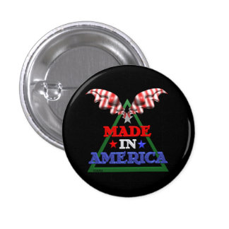 Made in America Buttons