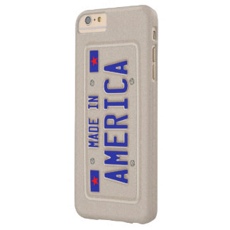 Made In America Car Licence Plate Barely There iPhone 6 Plus Case