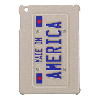 Made In America Car Licence Plate iPad Mini Case