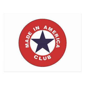 Made in America Club Postcard