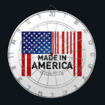 """Made in America Dart Board USA Military<br><div class=""""desc"""">Support Made in America with this incredible dartboard</div>"""