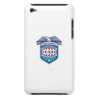 Made In America Eagle Patriotic Shield Retro Barely There iPod Cover