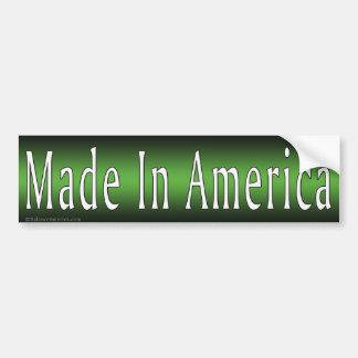 Made In America Greene Bumper Sticker Car Bumper Sticker