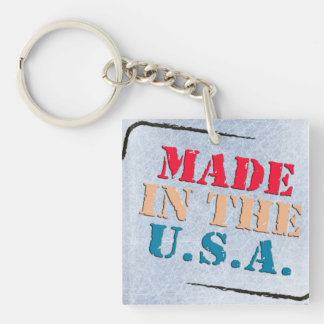 MADE IN AMERICA KEYCHAIN