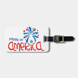 Made In America Luggage Tag