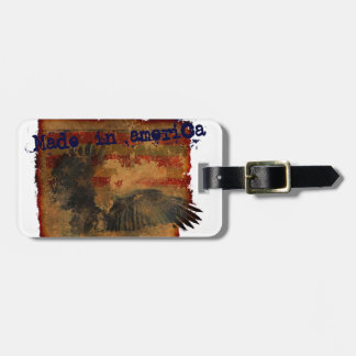 made in america luggage tags