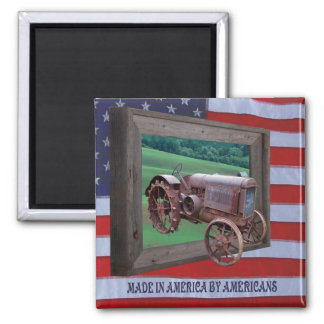 MADE IN AMERICA-MAGNET MAGNET